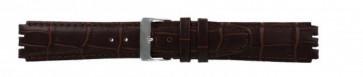 Correa de reloj Swatch (alt.) 21414.27 Cuero Marrón 17mm