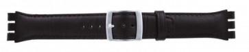 Correa de reloj Swatch (alt.) 51643.03 Cuero Marrón 19mm