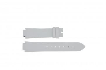 Breil correa de reloj F660013402-TW0610 Piel Blanco 17mm