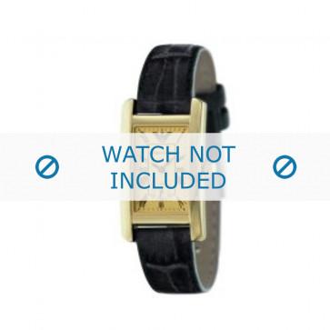 Correa de reloj Armani AR0123 Cuero Negro 18mm
