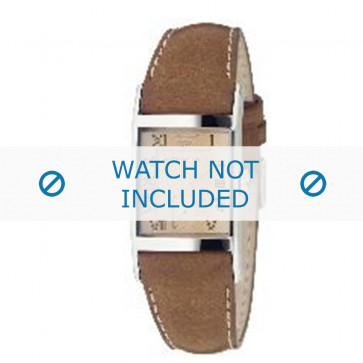 Armani correa de reloj AR0251 Cuero Marrón 22mm