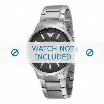 Correa de reloj Armani AR2460 Acero 24mm