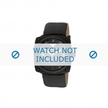Armani correa de reloj AR-5900 Piel Negro