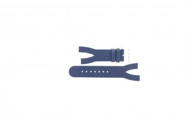 Correa de reloj Davis BB1403 Cuero Azul 10mm