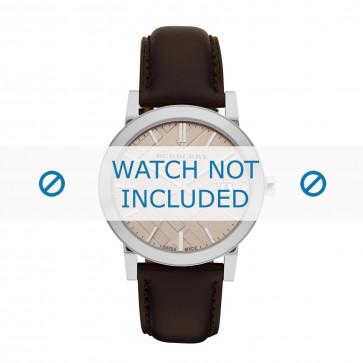 Correa de reloj Burberry BU9011 Cuero Marrón 20mm