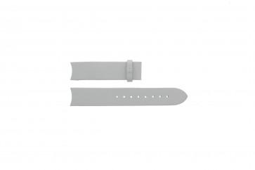 Breil correa de reloj TW0287 / BW0172 Piel Blanco 18mm