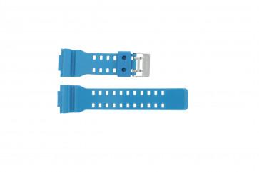 Casio correa de reloj GD-110-2W Goma Turquesa 16mm
