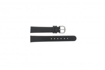 Danish Design correa de reloj ADDBL16 Cuero Negro 16mm