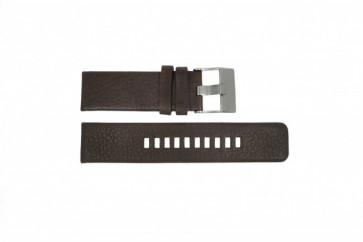 Correa de reloj Diesel DZ1467 / Screw+Springbar Cuero Marrón 24mm