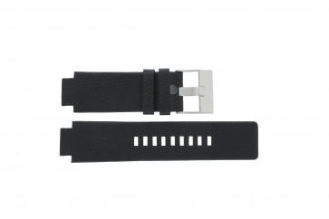 Correa de reloj Diesel DZ1089 / DZ1186 / DZ1091 Cuero Negro 18mm