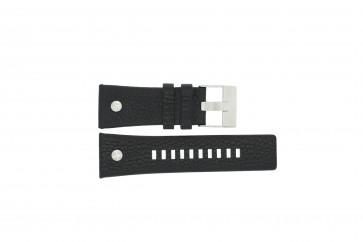 Correa de reloj Diesel DZ7125 / 11XXXX Cuero Negro 28mm