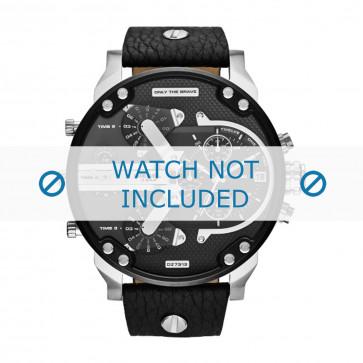 Correa de reloj Diesel DZ7313 Cuero Negro 28mm