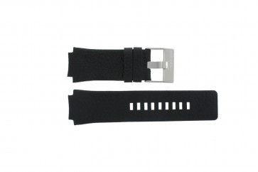 Diesel correa de reloj DZ-1109 Piel Negro 20mm