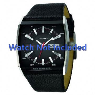 Correa de reloj Diesel DZ1253 Cuero Negro 34mm