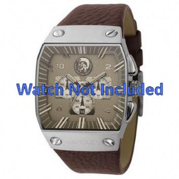 Correa de reloj Diesel DZ9038 Cuero Marrón 32mm