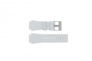 Correa de reloj Diesel DZ1449 Cuero Blanco 25mm