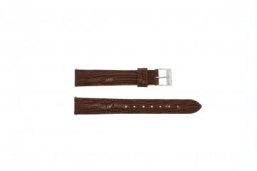 Correa de reloj Universal E360 Cuero Marrón 16mm