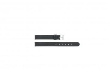 Correa de reloj Universal C012 XL Cuero Negro 12mm