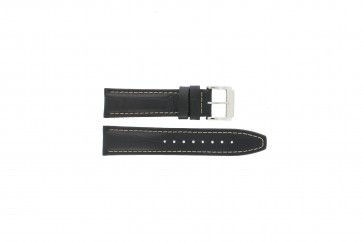 Correa de reloj Festina F16081-7 Cuero Negro 22mm
