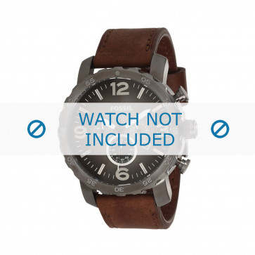 Fossil correa de reloj JR-1424 Piel Marrón 24mm