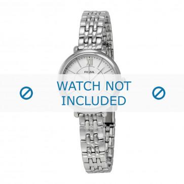 Fossil correa de reloj ES-3797 Acero Palteado 10mm