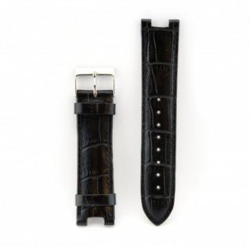 Guess correa de reloj W11008L2 Piel Negro 21mm