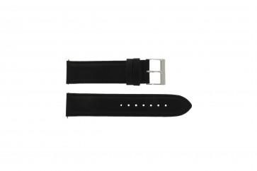 Guess correa de reloj W10562G3  Piel Negro 22mm