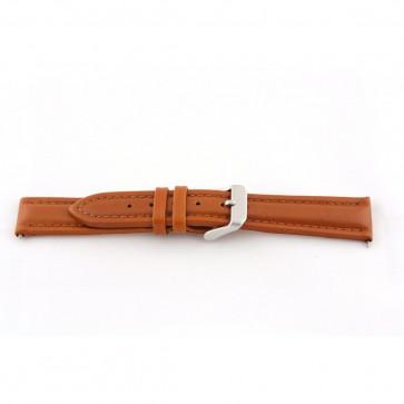 Cuero genuino coñac marrón 22mm G51