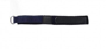 Correa de reloj de velcro azul oscuro 14mm