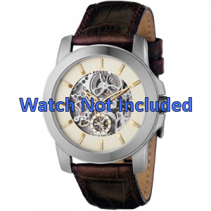 Correa de reloj Fossil ME1026 Cuero Marrón 22mm