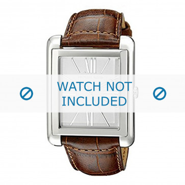 Correa de reloj Michael Kors MK2244 Cuero Cognac 24mm