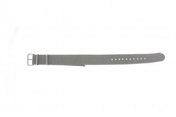Correa de reloj WoW NATO-RO-5-20 Textil Gris 20mm