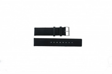 Skagen correa de reloj 241LSLC Cuero Gris 20mm + costura predeterminada
