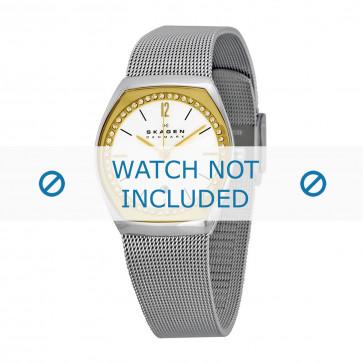 Skagen correa de reloj SKW2050 Metal Plateado