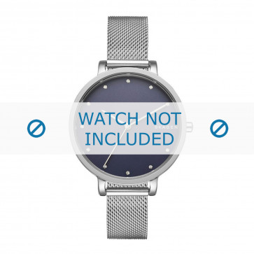 Skagen correa de reloj SKW2582 Metal Plateado 12mm