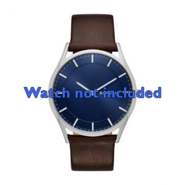 Correa de reloj Skagen SKW6237 Cuero Marrón 22mm
