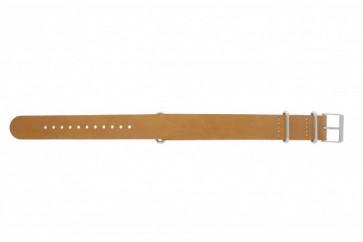 Timex correa de reloj T2P492 Piel Marrón 20mm