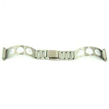 Bandas elásticas cromadas que se ajustann a todos los relojes de mujer con tamaño 10 a 14mm EC611