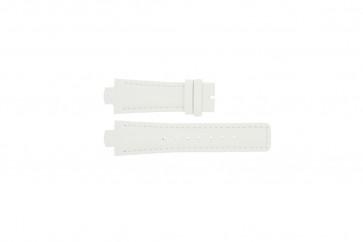 Breil correa de reloj TW0394 / F660012788 Cuero Blanco 12mm + costura blanca