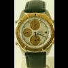 Correa de reloj Seiko 7T42 6A0B / SDX014J1 Cuero Negro 20mm