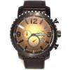 Correa de reloj Fossil BQ2080 Cuero Negro 24mm
