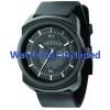 Correa de reloj Diesel DZ1262 Caucho Negro 26mm