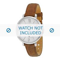 Correa de reloj Fossil ES3708 Cuero Marrón 14mm