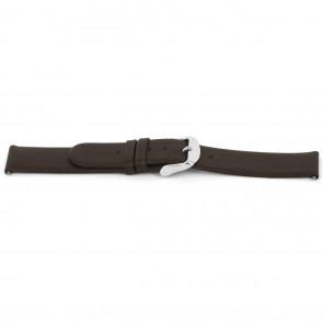 Correa de reloj Universal D300 Cuero suave Marrón 14mm