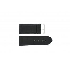 Correa de reloj Universal 305R.01 Cuero Negro 30mm