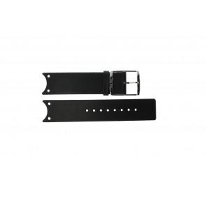 Calvin Klein correa de reloj K0V23107 / K600.000.036 Cuero Negro