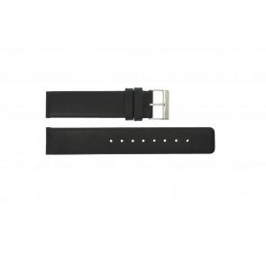 Correa de reloj Obaku V112 Cuero Negro 20mm