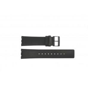 Correa de reloj Obaku V137 Cuero Negro 23mm