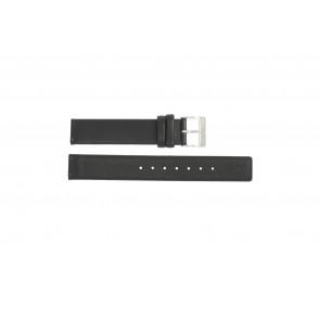 Correa de reloj Obaku V139 Cuero Negro 16mm