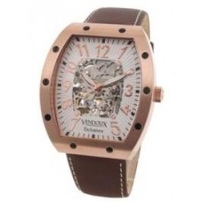 Reloj Vendoux automatico rosado LR 12912-02